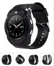 Smart Watch V8 Round Screen Smart Watch - Black | Smart Watches & Trackers for sale in Nairobi, Nairobi Central