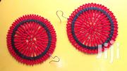Pure Red Small All Round Fined Beads Ladies Earrings   Jewelry for sale in Nairobi, Kasarani