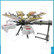 High Quality Manual 6 Color 6 Station Screen Printing Machine | Printing Equipment for sale in Nairobi, Nairobi Central