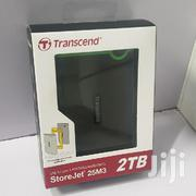 2TB Transcend Storejet Military Grade External Hard Drive - Black | Accessories & Supplies for Electronics for sale in Nairobi, Nairobi Central