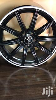 """Mercedes Rims Set Size 18"""" 