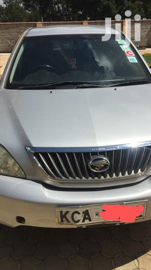 Toyota Harrier 2008 Silver